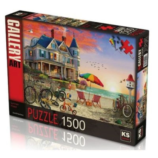 KS Games 1500 Puzzle Summer House