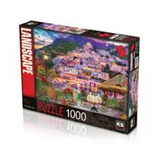 KS PUZZLE 1000 PARÇA LIGHTS OF AMALFI